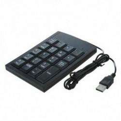 Mini fekete USB numerikus billentyűzet Billentyűzet a Z9X5 laptop számítógéphez