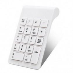 2X (vezeték nélküli 2,4 GHz-es 18 kulcsos számbillentyűzet numerikus billentyűzet billentyűzettel a V4J5 laptophoz)