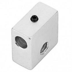 1X (3D nyomtató, alumínium hőálló blokk M6, speciális az MK7 MK8 Makerbot Extr S8J7 számára)