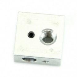 1X (Alumínium melegítő blokk szerelvény Makerbot 3D nyomtatóhoz MK7 MK8 Extruder L4F6