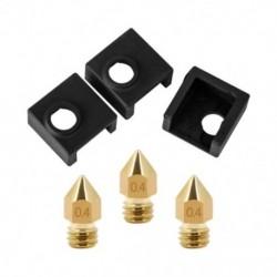 3D nyomtatófűtés-blokk szilikon burkolat Mk7 / Mk8 / Mk9 Hotend For Ender 3, Ende N9C3