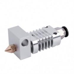 1X (minden fém Hotend készlet Creality CR-10 nyomtatókhoz .4 mm CR10, CR10S, E3T3