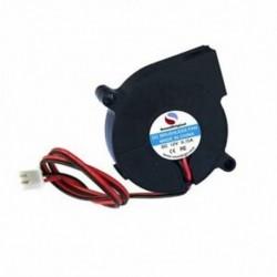 1X (2 db DC 12V hűtőventilátor ventilátorral, Hmm J8I8 3D nyomtató ventilátora 50mmx15 mm)