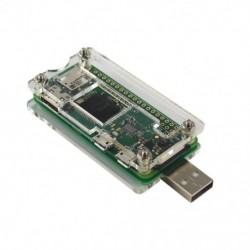 Rossz USB-kiegészítőkártyás USB-A csatlakozó átlátszó tokja a Raspberry Pi Zero Z4F7-hez