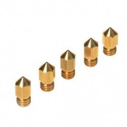 5 db 3D nyomtató, 0,4 mm-es extruderes sárgaréz fúvóka nyomtatófej, MK8 1,75 mm-es ABS P J1W2