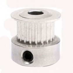 1db 3D-s nyomtató GT2 20 fogak alumínium fogasszíjak 5 mm-es tengelygörgők CNC, Si U6J0