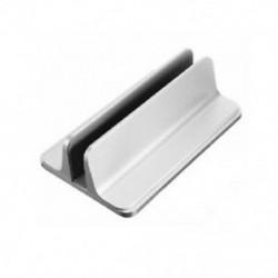 Függőleges 2 az 1-ben laptop vagy táblagép állítható állvány fém asztali notebook R2W4