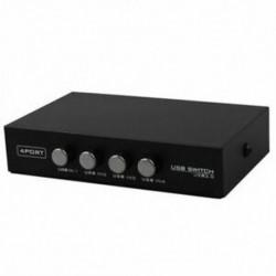 1X (a legújabb Mini 4 portos USB nyomtató szkenner megosztása megosztás megosztás kapcsoló Bo U5Y2