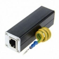 1X (szemaikus RJ45 Plug Ethernet hálózat túlfeszültségvédő Thunder Arrester 100MH J4H3