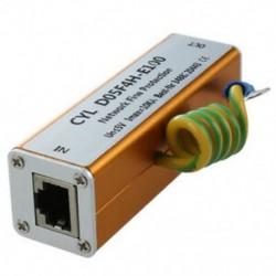 Ethernet LAN RJ-45 RJ45 Túlfeszültségvédő Új elektronikus N2T4