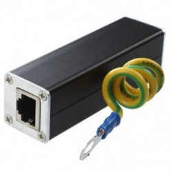 5X (RJ45 Plug Ethernet hálózati túlfeszültségvédő Thunder Arrester 100MHz K2H2)