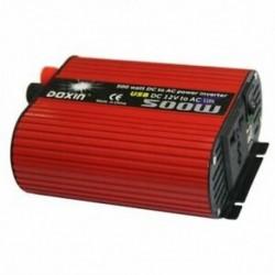 6X (DOXIN teljesítmény-inverter 500 W DC 12V-110V váltóátalakító 4.2A kettős USB O5U6