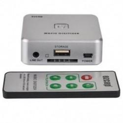 Ezcap 241 Music Player Music Digitizer Analóg zenét rögzíthet P7U1 USB-meghajtóban