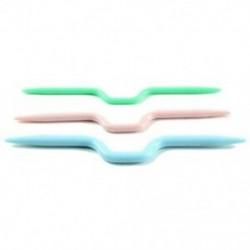 1X (5 készlet 3 keverő színből Műanyag kábel tű, kötőtartó tűk Új D6O4
