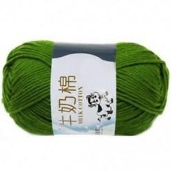 Qiuqing zöld - 1X (1 csoport tej pamut gyapjú vonal vonal körülbelül 2,5 mm F3T2)