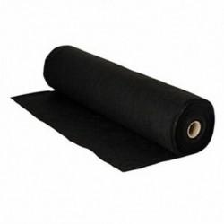 fekete - Szövet, méret: hossza 5m széles, 45cm vastag, 1 mm P1S6