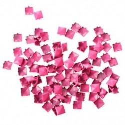 100db Rózsaszín punk stílusú - piramis alakú szegecs ruha - táska - karkötő - különböző tárgyak díszítéséhez
