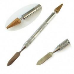 1X (él olajfestő toll, dupla oldalú, diy bőr kézműves szerszámok, peremkezelésM2P2)