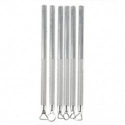1X (6 db-os készlet alumínium agyagszobrászati szerszámok X7X7)