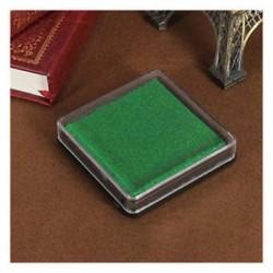 2X (Tampon bélyegpárna esküvői bélyegző Dark Green B5R4)