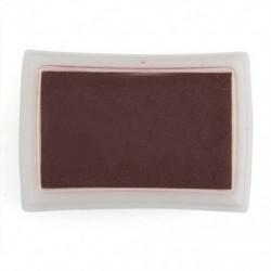 1X (barna tintapatron tintapatron gumibélyegző ujjlenyomat-készítő nem mérgező Baby Saf F5D2