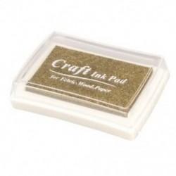 Gumibélyegző tinta pad bélyegző tintapatron Tinta pad - Gold O8D9