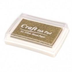 Gumibélyegző tinta pad bélyegző tintapatron Tinta pad - Arany P7B6