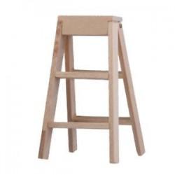 1:12 Babaház miniatűr bútor fa létrával M1G8 S8D1 L2X4