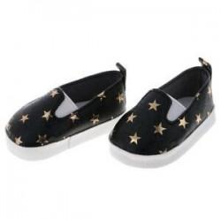 1X (Új alkalmi csillaggal nyomtatott csúsztatható PU bőr cipő 18 hüvelyk méretű Generat H4E2 készülékhez