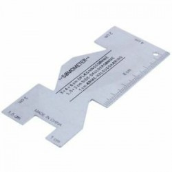 Fém-Somométer varráshoz használt steppelt vonalzó mérőeszköz F4Q6 varráshoz