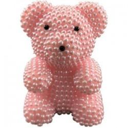 2X (Kreatív ajándékok a Valentin-napi kézzel készített habgyöngy-medvekészlethez, a Foam Bea R9P3-hoz