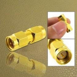 1X (SMA aljzat SMA aljzathoz sorozatú RF koaxiális adapter csatlakozóval K3H5)
