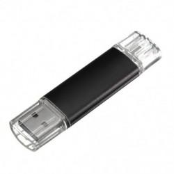 2 GB-os USB memóriakártya OTG mini USB Flash Drive mobil PC fekete K1R5