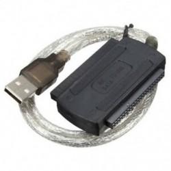 USB 2.0 hím az IDE SATA adapter átalakító kábel merevlemez adapter kábel f Y4H7