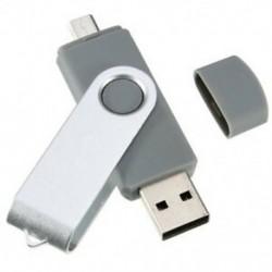 szürke - 1X (USB Mini memóriakártya 16 GB-os USB 2.0 memória-meghajtó OTG a Handy PC Q9D4-hez)