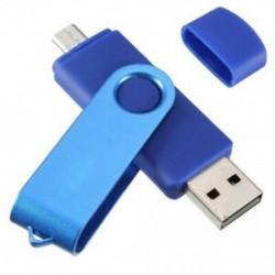 USB Mini memóriakártya 32 GB-os USB 2.0 memória flash meghajtó OTG a Handy PC Blue W5E6-hoz