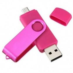 Rózsavörös - 1X (USB Mini memóriakártya 32 GB-os USB 2.0 memória-meghajtó OTG a Handy PC M2S1 számára)