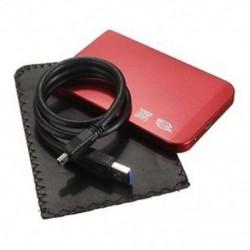 SATA USB 3.0 SATA 2.5 &quot HD HDD merevlemez-meghajtó ház, külső doboz, R G1M8