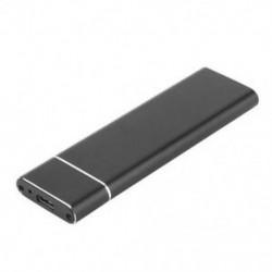 1X (USB 3.1 – M.2 NGFF SSD mobil merevlemez-adapter adapterkártya külső Enclo D8U8