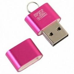 1X (Alumínium USB 2.0 hordozható memóriakártya-olvasó adapter Micro-SD kártya / M5N6 számára
