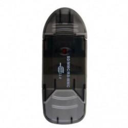 2X (SD MiniSD MMC T-Flash kulcs USB 2.0 kártyaolvasó (SD kártya és kártya adapter B4A8