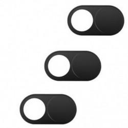 Webkamera burkolatok (3 csomag), 0,7 mm-es ultravékony webkamera borító blokkoló a Mobil I8Z1-hez