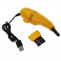 1X (Mini USB számítógép-billentyűzet-tisztító, sárga W9I4)