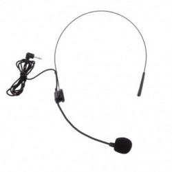 2X (Hátsó egyirányú fejsávos mikrofon mikrofonnal, dugóval, G5N3 flexióval