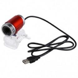 USB 5.0 megapixeles webkamera kristálycsipesszel a laptop PC piros C7D3-hoz