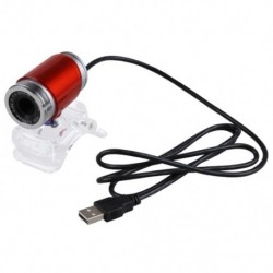 1X (USB 5,0 megapixeles webkamera kristálycsíkkal, laptop PC piros E7H7)