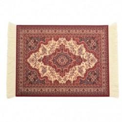 28x18 cm-es perzsa szőnyeges egérpad Retro stílusú szőnyeg mintás egérpad piros I6I7