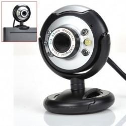 1X (Új USB 80.0M 6 LED-es webkamera 80MP webkamera mikrofonnal az asztali PC-hez L K1F8