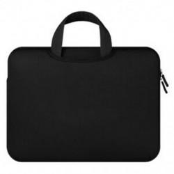 Hüvely tok MacBook notebook táska laptophoz, 3. modell, fekete kézitáska, mind az 14, az L1Q8-ban