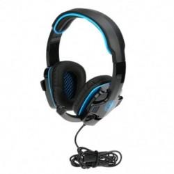 SADES SA-708 GT játék-fejhallgató mikrofonnal, játék fejhallgató J6E7 számítógép